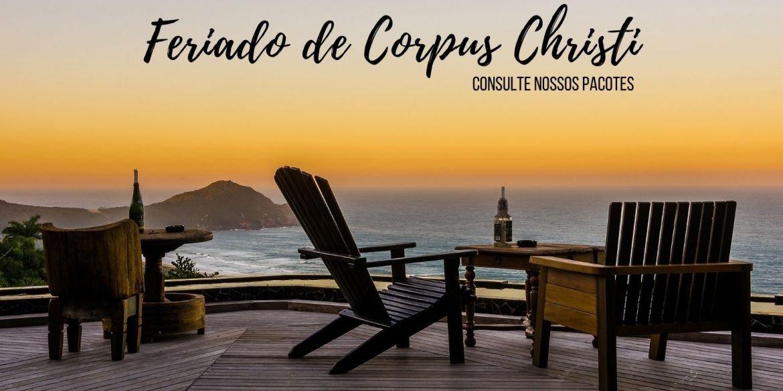 Pacote Feriado de Corpus Christi na Praia do Rosa SC 2021