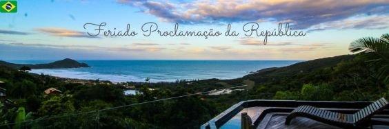 Pacote Feriado Proclamação da República na Praia do Rosa SC 2021