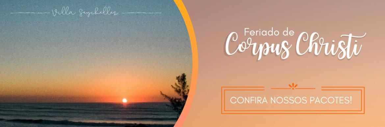 Feriado de Corpus Christi na Praia do Rosa SC 2021