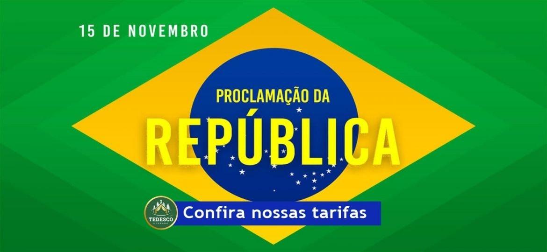 Pacote Feriado da Proclamação da República 15 de Novembro na Serra Gaúcha 2021