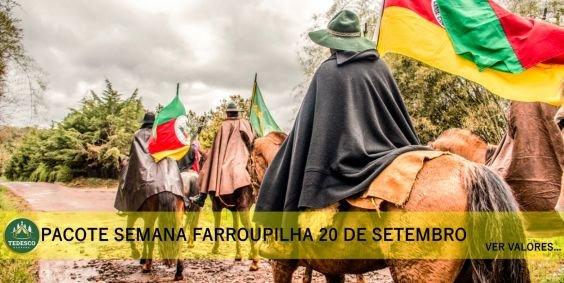 Pacote Feriado Semana Farroupilha 20 de setembro na Serra Gaúcha 2021